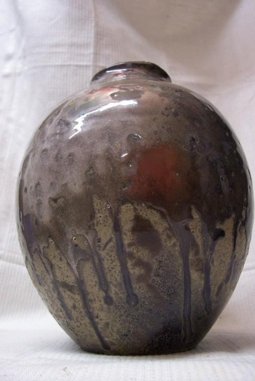 Mobach kruik met reductieglazuur 1930-1950