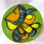 Poole pottery Delphis schotel/bord uit de jaren 1970