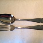 Diner vork van Gero Zilmeta model 763, ontwerp van Georg Nilsson