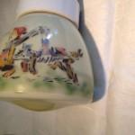 Retro plafondlamp voor de kinderkamer met rijmpje
