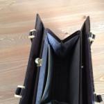 Geweldige bruine slangenleren vintage 1960 bag