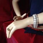Indrukwekkende Trifari armband uit de fifty's