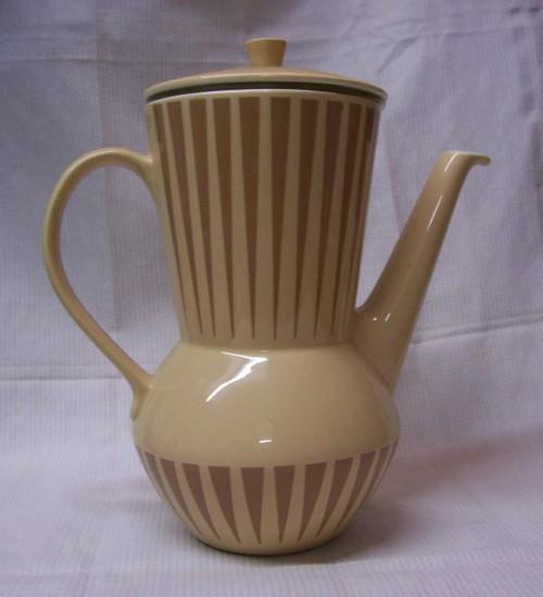 Douwe Egbert koffiepot keramiek met origineel filter