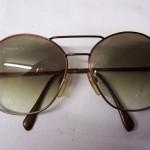 Seventies Rodenstock ascona zonnebril metaal met verlopend glas