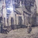 Ets uit 1938 St.Jan in de Meersch Brugge van H.E. Roodenburg