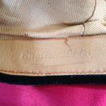 Academische baret originele, zwart fluweel