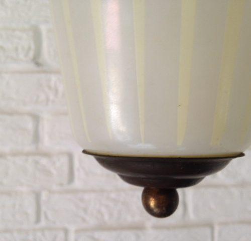 Vintage retro jaren 1950 lantaarn hanglamp