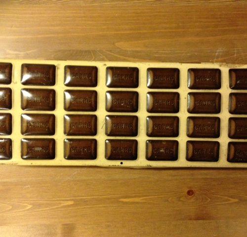 Blik van A.Driessen voor Chocolaad carro's