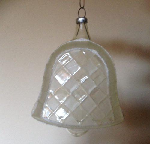 Hele bijzondere grote heldere vliesdunne glazen klok