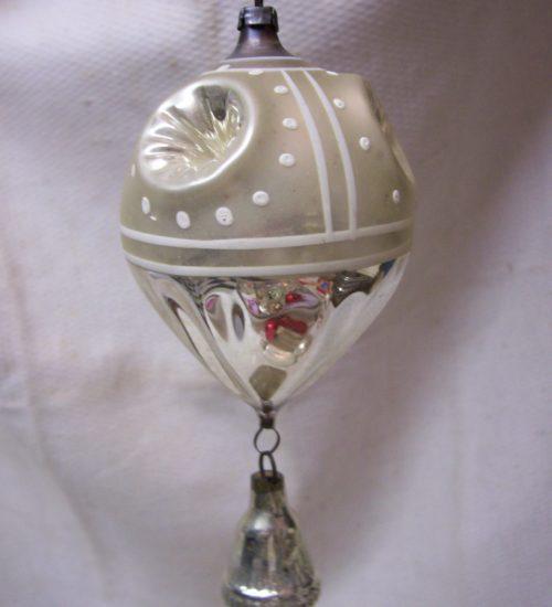 Antieke deuk of reflexbal in zilver uit begin 1900