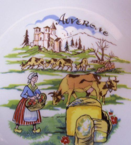6 kaas bordjes van Arzberg Hutschenreuter uit de jaren 1960