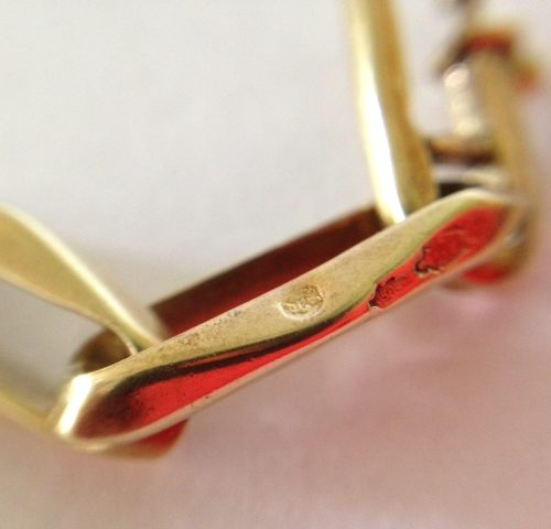 Geelgouden 14 karaat closed-for-ever armband