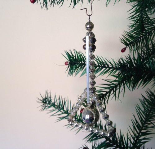 Citer van glas voor in de kerstboom 1925-1950