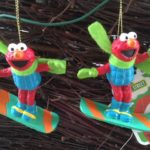 Sesam straat kerstbal of christmas ornament van Sesame Workshop Kurt S. Adler uit 2007