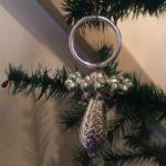 Gablonzer speen in zilver en lichtgroen