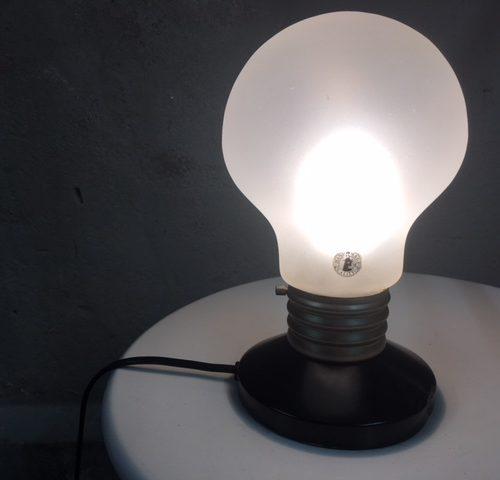 Vintage bulb lamp uit de jaren 1970