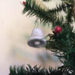 Antieke oude watten kerstklok uit het 1e kwart van de vorige eeuw