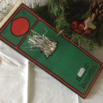 Vintage doos met sluier lametta van de Hema laatste kwart 1900