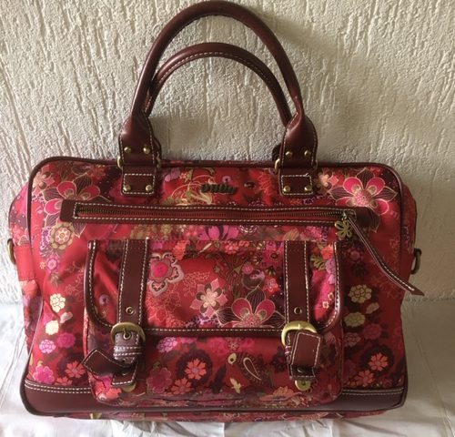Oilily office bag of laptop tas met rode print