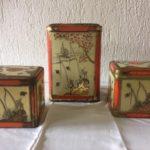 Oud blik van Th. Niemeijer Groningen oranje pecco thee