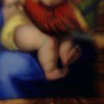Rosegouden hanger met Zwitsers emaille plaquette 1840-1860