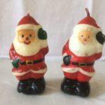 Stel vrolijke Gurley Kerstkaars mannen uit de jaren 1960